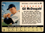 1961 Post Cereal #10 Gil McDougald Very Good  ID: 297883