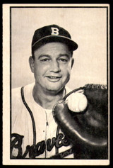 1953 Bowman Black and White #30 Walker Cooper Excellent