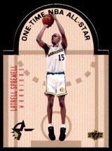 1993-94 Upper Deck Special Edition West All Stars #W4 Latrell Sprewell NM Die Cut