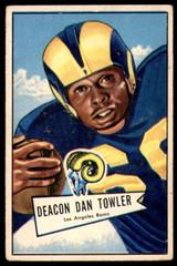 1952 Bowman Large #120 Dan Towler Very Good