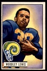 1951 Bowman #5 Woodley Lewis Ex-Mint RC Rookie