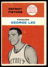 1961-62 Fleer #27 George Lee Excellent+