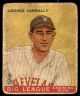 1933 Goudey #27 Sarge Connally Good RC Rookie  ID: 250433