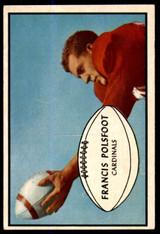 1953 Bowman #7 Fran Polsfoot Excellent