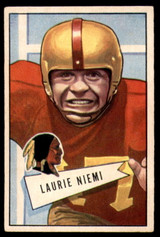 1952 Bowman Small #6 Laurie Niemi Excellent+