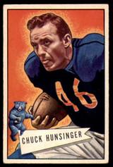 1952 Bowman Small #7 Chuck Hunsinger Excellent+