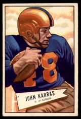 1952 Bowman Small #24 John Karras Excellent+