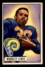 1951 Bowman #5 Woodley Lewis Excellent+ RC Rookie