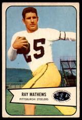 1954 Bowman #1 Ray Mathews Excellent