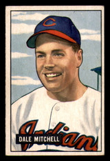 1951 Bowman #5 Dale Mitchell Excellent+