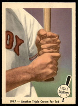 1959 Fleer Ted Williams #33 1947 - Another Triple Crown for Ted Near Mint