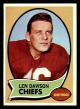 1970 Topps #1 Len Dawson UER Excellent+  ID: 278560