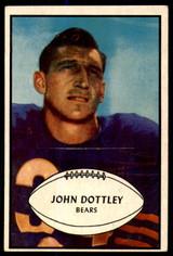 1953 Bowman #2 John Dottley VG-EX