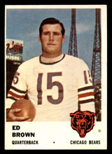 1961 Fleer #1 Ed Brown Ex-Mint