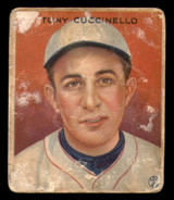 1933 Goudey #99 Tony Cuccinello Poor RC Rookie