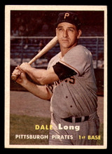 1957 Topps #3 Dale Long Excellent+