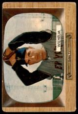 1955 Bowman #1 Hoyt Wilhelm UER Poor  ID: 257782