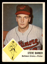 1963 Fleer #1 Steve Barber Excellent  ID: 281489