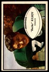 1953 Bowman #4 Bucko Kilroy Very Good  ID: 255295