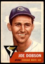 1953 Topps #5 Joe Dobson Very Good  ID: 252830