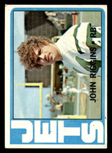 1972 Topps #13 John Riggins Excellent RC Rookie  ID: 270785