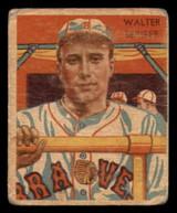 1934-36 Diamond Stars #25 Wally Berger Poor