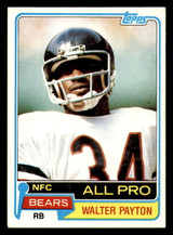1981 Topps #400 Walter Payton Excellent+
