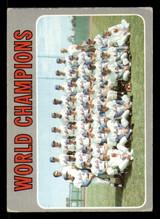 1970 Topps #1 World Champions Mets G-VG  ID: 277120