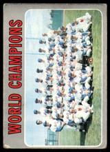 1970 Topps #1 World Champions Mets G-VG  ID: 265234