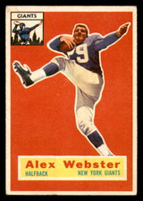 1956 Topps #5 Alex Webster Excellent RC Rookie