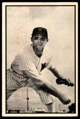 1953 Bowman Black and White #9 Walt Masterson Good