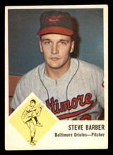 1963 Fleer #1 Steve Barber Very Good  ID: 281485