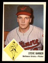 1963 Fleer #1 Steve Barber Very Good  ID: 281486