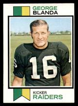 1973 Topps #25 George Blanda Ex-Mint  ID: 297620
