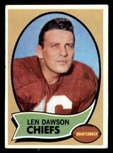 1970 Topps #1 Len Dawson UER VG-EX  ID: 270556