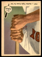 1959 Fleer Ted Williams #33 1947 - Another Triple Crown for Ted Excellent+