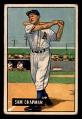 1951 Bowman #9 Sam Chapman Very Good  ID: 298139