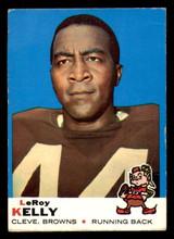 1969 Topps #1 Leroy Kelly Very Good  ID: 270539