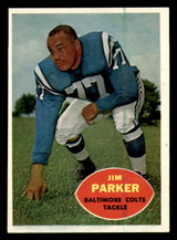 1960 Topps #5 Jim Parker Ex-Mint  ID: 269687