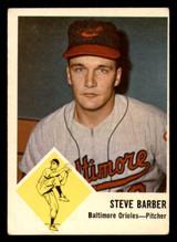 1963 Fleer #1 Steve Barber G-VG  ID: 281487