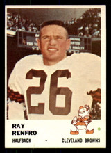 1961 Fleer #13 Ray Renfro Near Mint