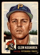 1953 Topps #8 Clem Koshorek DP Very Good  ID: 295951
