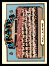 1972 Topps #1 World Champions Pirates Excellent+  ID: 267575