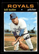 1971 Topps #681 Bill Butler Excellent+ High Number  ID: 293880