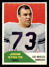 1960 Fleer #14 John Stolte Near Mint+  ID: 270854