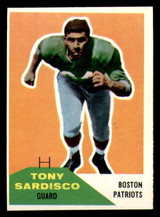 1960 Fleer #21 Tony Sardisco Near Mint  ID: 270863