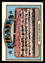 1972 Topps #1 World Champions Pirates Excellent  ID: 294171