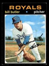 1971 Topps #681 Bill Butler Excellent High #  ID: 267312