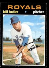1971 Topps #681 Bill Butler Excellent High #  ID: 267317