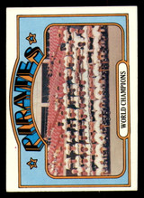 1972 Topps #1 World Champions Pirates Excellent  ID: 275290